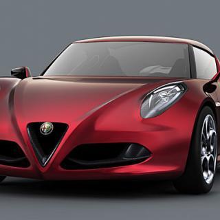 Alfa Romeo 8C med 600 hästkrafter
