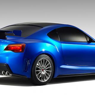 Subaru BRZ STI Concept – Nu visas hela bilen