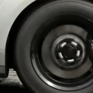 Två minuters burnout - med en Ford Focus