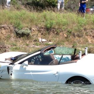 Bugatti Veyron nära krasch