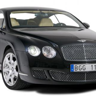 Bentley Continental GTC i ny form