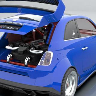 Fiat 500 TwinAir: Ace of base