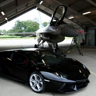 Våldsam marknadsföring av Lamborghini
