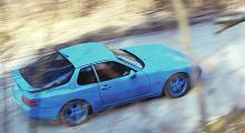 Porschen rullar, hjälpligt.