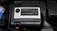 En rak turboladdad fyra på 132,5 hk per liter. Trots litereffekten är motorn riktigt snäll.