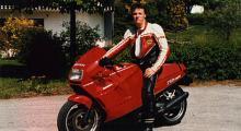 Ducati 750 Paso - en annan italiensk älskling i Henriks garage.