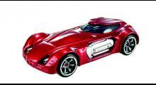 Dodge XP-07 i skala 1:64. Inspiration från Batmobile, även vad gäller drivningen: turbinmotor! Fast det experimenterade ju Chrysler själva med redan på 1960-talet…