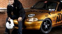 Flera av Automobils medarbetare har racinglicens, men det är bara Per Hammarsjö som kommit loss med själva karriären. Läs även om Mazdas racingsatsning i USA på sidan 20 i Automobil 4.08.