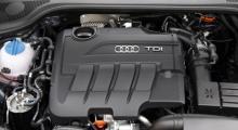 TDI-motorn på 2 liter och 170 hästkrafter har common rails direktinsprutning och är ovanligt trevlig dieselbekantskap. Rapp i relationen och trevlig ljudupplevelse.