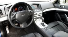 Snyggt och redigt och med bättre fingertoppskänsla än exempelvis Nissan 350Z.