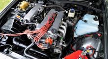 En motor som övervarvats men räddats till livet och nu ska få leva loppan på banorna.