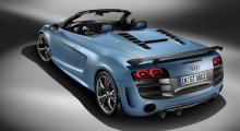 Audi R8 GT Spyder: flugviktscab