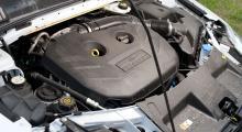 Motorn består av ett oändligt stort plastsjok och kanske någonting där under.