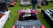 Lördag: Automobil på Rosersberg