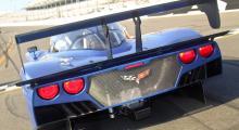 Såhär har du aldrig sett de välbekanta bakljusen från en Corvette.