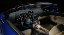 Med LP 550-2 Spyder vill Lamborghini sätta upplevelsen i fokus.