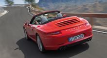 Bilder på nya 911 Carrera Cabriolet