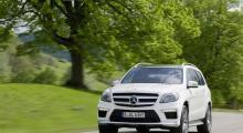 Mercedes-Benz GL63 AMG med 550 hästkrafter