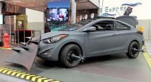 Hyundai Elantra Coupé med Zombie-paket