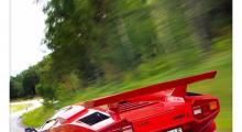 Vi startade med Lamborghini Countach i nummer 1 - fri att ladda ner i appen