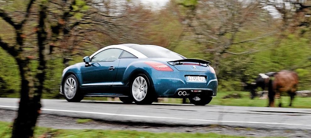 Bildspel Prov Peugeot RCZ