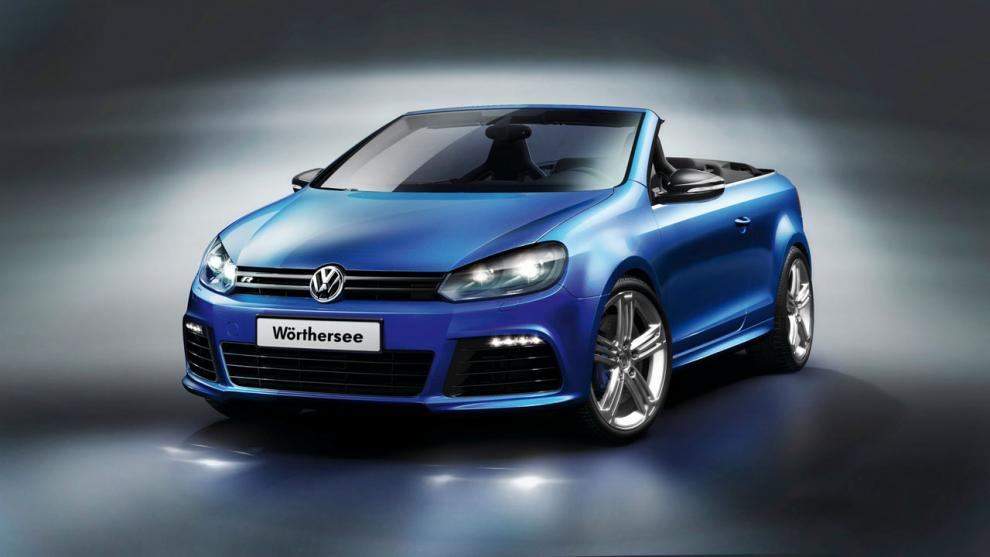 Bildspel VW Golf cabrioletkoncept