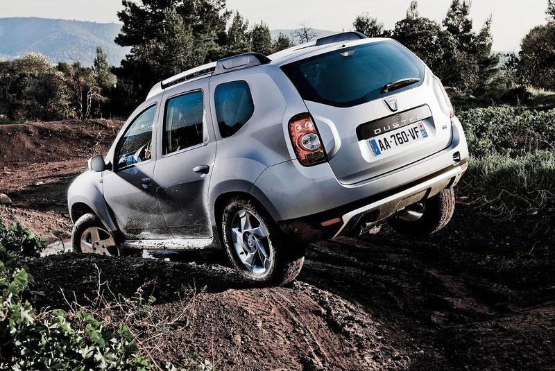 Dacia Duster, klämd ur en tub.