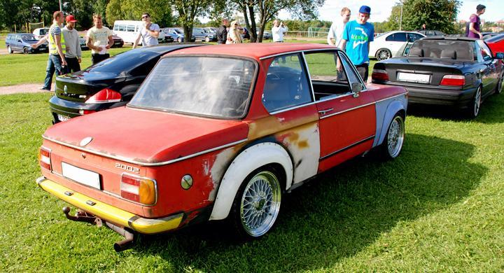 BMW-träff i E-tuna