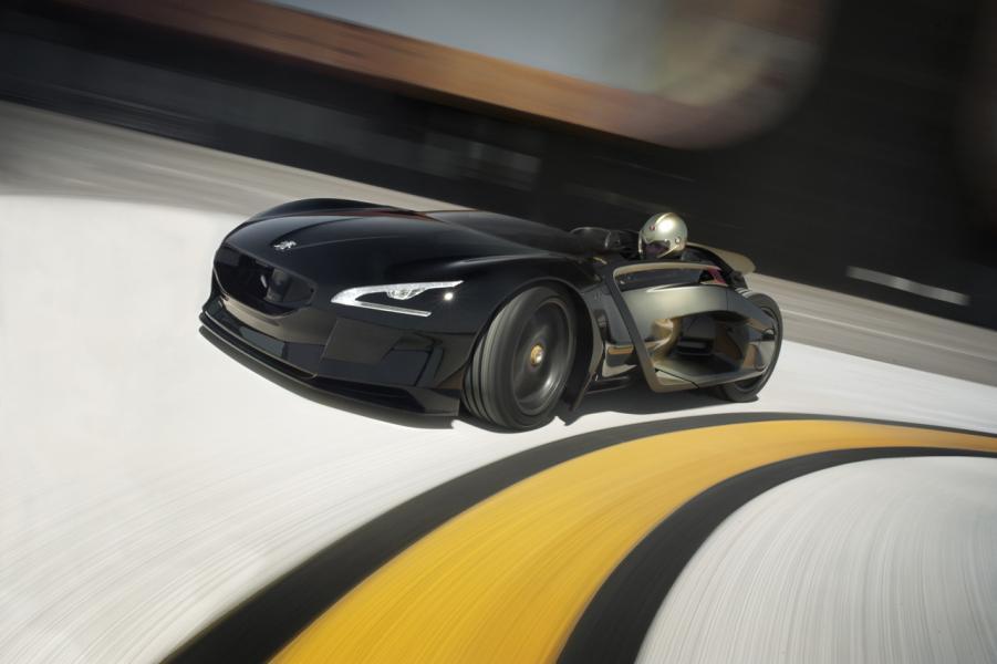Peugeots 200-årskalas firas med raket
