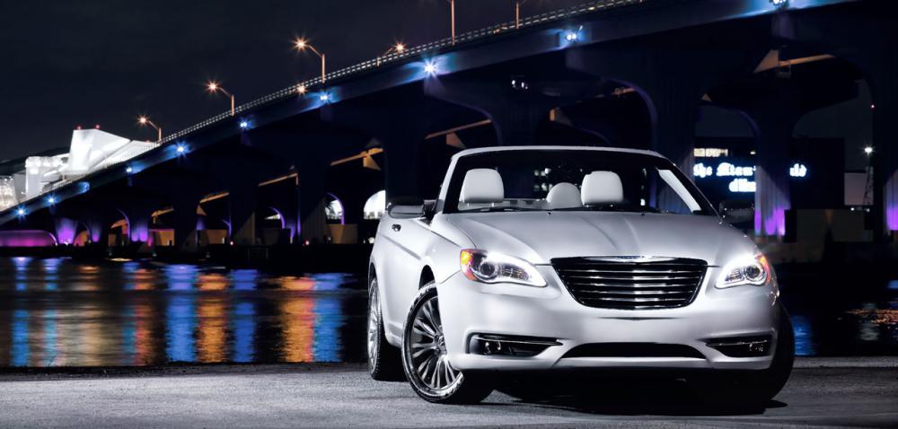PREMIÄR: Chrysler 200 Convertible