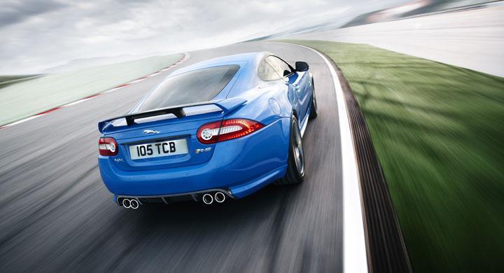 Jaguar XKR-S – en blådåre