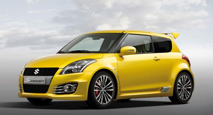Suzuki Swift S – nyfiken gul