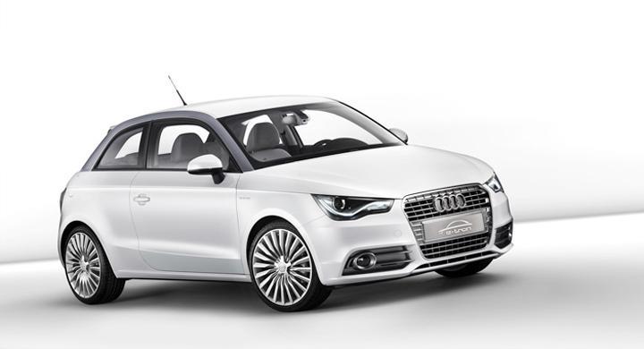 Audi A1 e-tron – ettan på alpvägar!