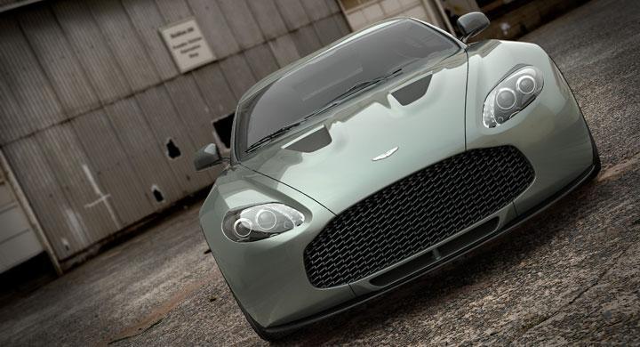 Aston Martin V12 Zagato mer civil