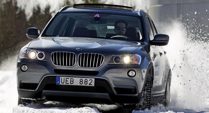 BMW X3 xDrive35i: Stor & Liten