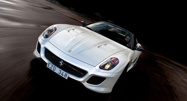 Ferrari 599 GTO: Superhannen
