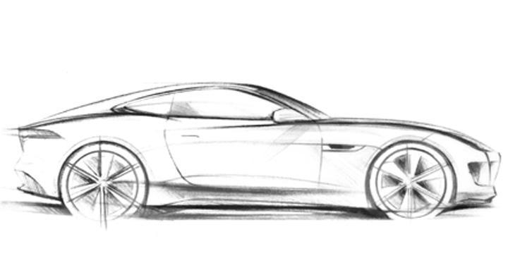 Jaguar C-X16 visar ny modell