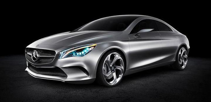 Konceptbil från Mercedes avslöjad