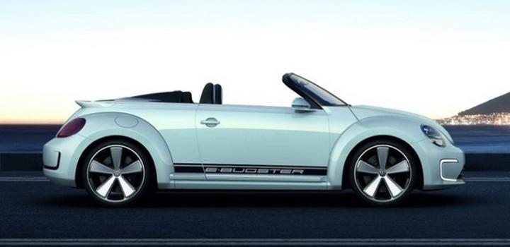 Volkswagen E-Bugster som cabriolet
