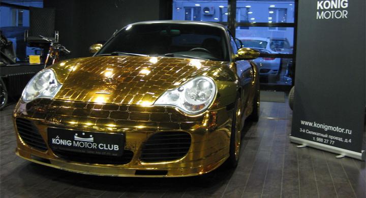 Porsche Turbo Bling-Bling Edition