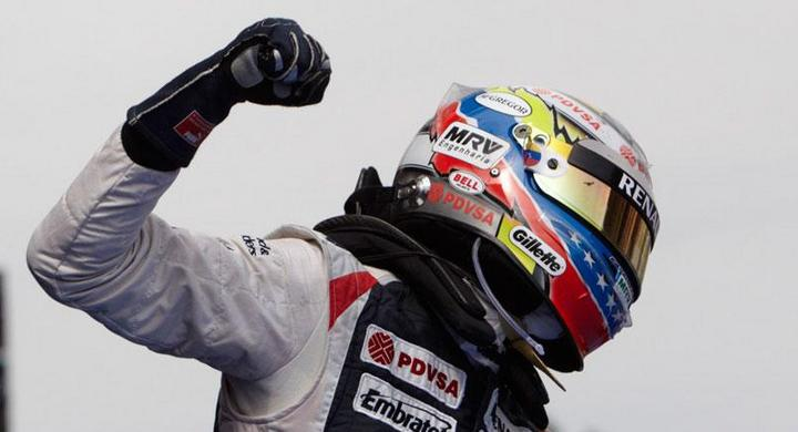 Maldonado tog hem Spaniens F1