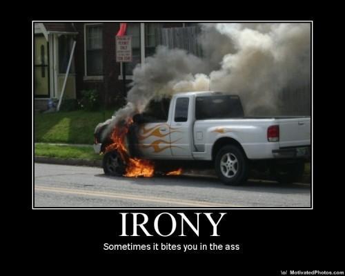 Bilhumor: Ironi