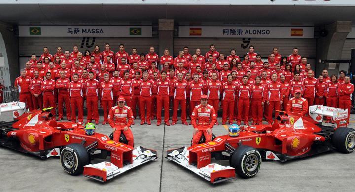 Ferrari världens femtonde mest värdefulla lag