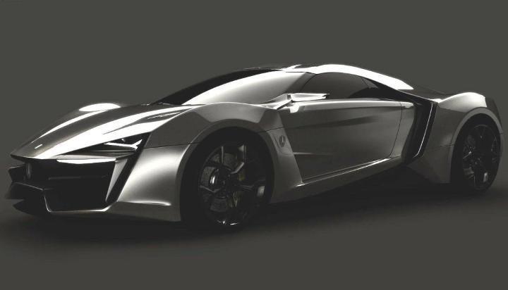 W Motors visar Mellanösterns första supersportbil
