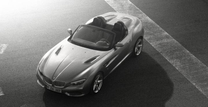 Officiell: BMW Zagato Roadster