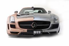 Mercedes SLS trimmad x 2