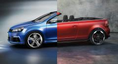 2 x VW Golf Cabrioletkoncept