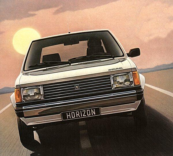 1979: Simca Horizon