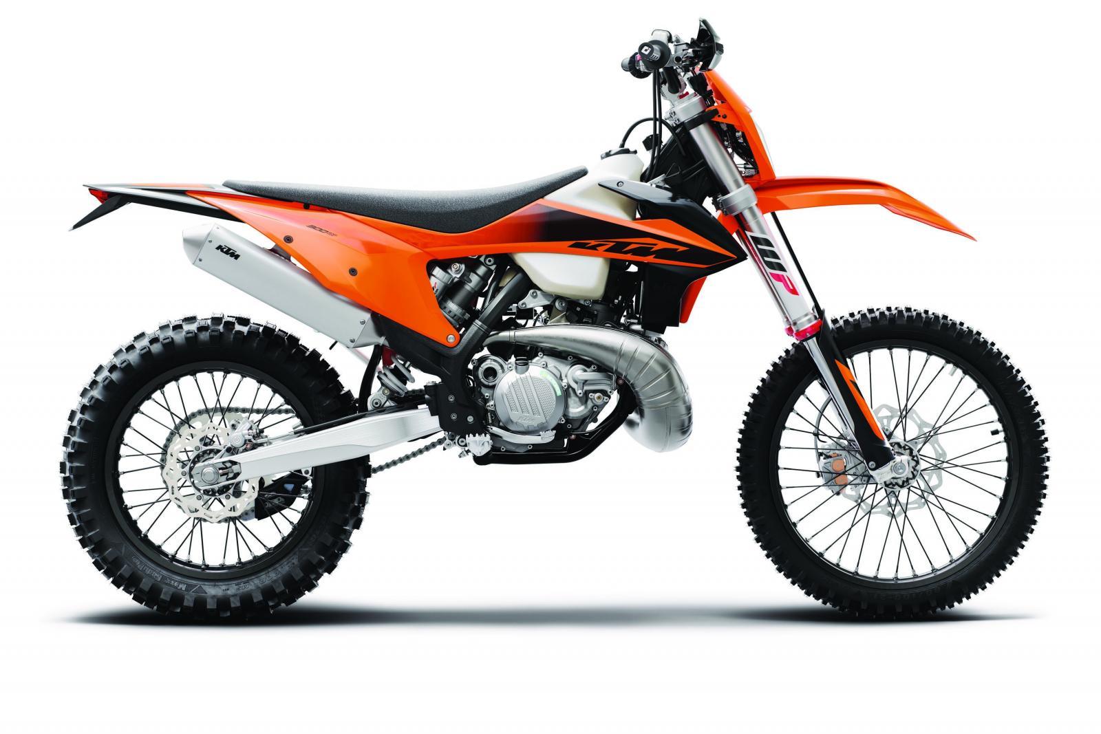 Nya KTM 300 EXC får visa designen...