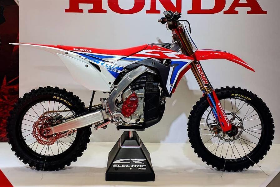 Honda visade elcrossen CR Electric Proto
